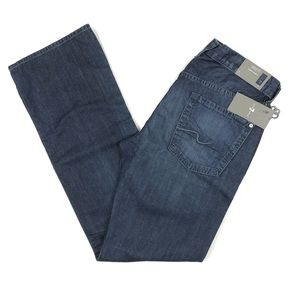 7 For All Mankind Brett Slim Bootcut Jeans Size 33